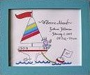 New Baby Gifts Sailboat